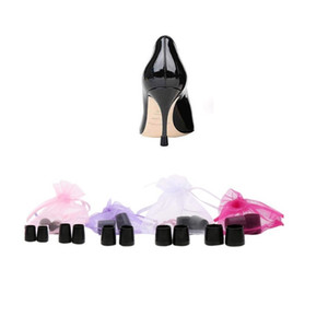 High Heeler Latin dance Stiletto Shoes Heel Covers Cap Heel Stoppers Antislip Heel Protectors for Bridal Wedding Party free shipping