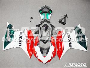 Nouveau moule ABS vélo Kits De Carénage 100% Fit Pour DUCATI 899 1199 1199S Panigale s 2012 2013 2014 Bodywork set 12 13 14 Rouge X28