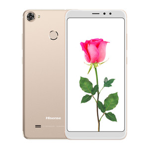 Ursprünglicher Hisense F26 4G LTE Handy 3GB RAM 32GB ROM Snapdragon 425 Viererkabel-Kern Android 5.99 Zoll 13.0MP Fingerabdruck Identifikation-intelligenter Handy