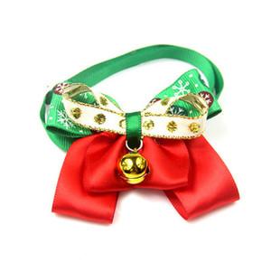 10 pc / lote Dog Bow Ties Bonito Gravatas Gola de Natal Do Feriado Do Filhote de Cachorro Do Cão Do Gato Laços Acessórios Grooming Suprimentos P88