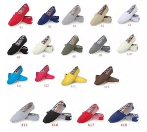 HOT Taille 35-45 En Gros Marque Mode Femmes Paillettes Solides Appartements Chaussures Sneakers Femmes et Hommes Toile Chaussures mocassins chaussures occasionnelles Espadrilles