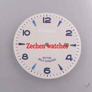 Pièces de montre 35.6mm Corgeut Cadran de montre Fit ETA 2836 Miyota 8215 8205 821A mouvement