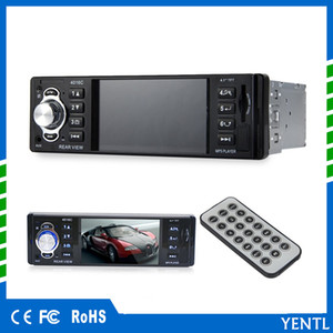 Spedizione gratuita Display LCD Audio Video PIn-Dash MP5 Car Player 1 Din 4.1 pollici Car Video Multimedia Player Radio FM MP3 MP4 DVD USB SD AUX
