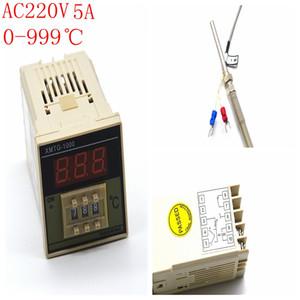 AC 220 В встроенный цифровой регулятор температуры микрокомпьютер термостат PID датчик температуры XMTG ЖК-дисплей 0-999 температуры Controlle