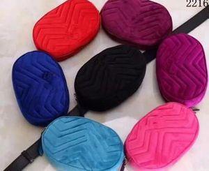 2018 Sacos de Cintura de veludo das mulheres Saco de Fanny Bag bum Bag Cinto Saco de Dinheiro Mulheres Handy Cintura Bolsa de Viagem Sólida Saco de Viagem 2216