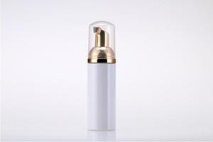 50 ml 플라스틱 foaming 병 펌프 흰색 액체 비누 디스펜서 최고의 foame 골든 foamer SN907와 거품 병