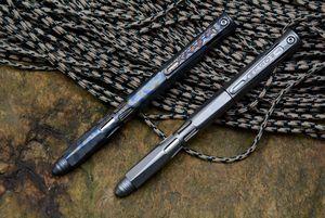 اثنين الشمس التيتانيوم الحفر رود التكتيكية انوديك القلم التخييم الصيد outdoors بقاء العملي أدوات edc متعددة أداة الأقلام