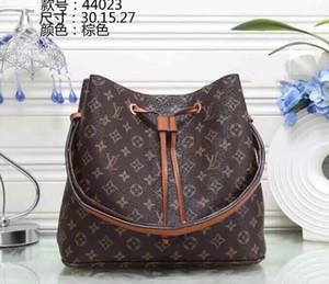 NEONOE сумки на ремне Noé кожа ведро Сумка женщины известные бренды дизайнер сумки высокое качество цветок печати crossbody сумка кошелек