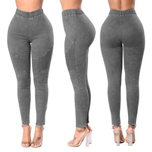 Vente chaude Femmes Jeans Push Up Haute Taille Hanches Jeans Skinny Pantalons Vêtements De Mode Printemps Été crayon jeans