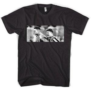 Vinnie Jones Gazza Futbolista Fan Terrace Hooligan Camiseta unisex Todos los tamaños Col Camisetas de algodón de manga corta normales Top camiseta