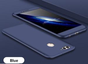 Pour Huawei Mate 9 Étui pour téléphone cellulaire 3-en-1 360 Degrés Armure Antichoc Dur Couverture Arrière Smart pour Huawei Mate 9