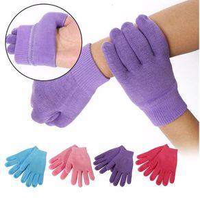 Gel Spa Luvas de Silicone Suavizar Whiten Esfoliante Tratamento Hidratante Mão Máscara de Reparação de Cuidados de Mão Ferramentas de Beleza Da Pele