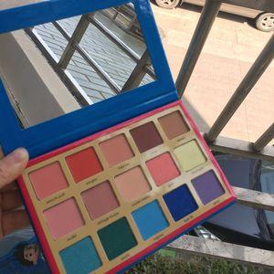 Paleta de cosméticos cosméticos de sombra de ojos paleta de colores resaltador para niñas 15 colores baratos envío gratis