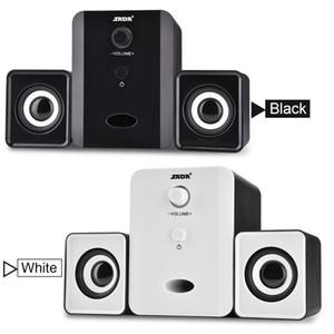 SADA D-201 USB Wired Combination Speaker Mini Bass Altoparlante stereo Lettore musicale Subwoofer per cellulare Laptop Spedizione gratuita