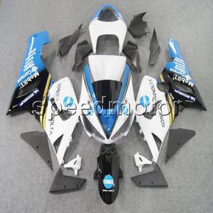 23colors + Geschenke blau weiß Motorrad Verkleidung für Kawasaki ZX6R 2005 2006 ZX 6R 05 06 ZX-6R ABS-Kunststoff-Kit