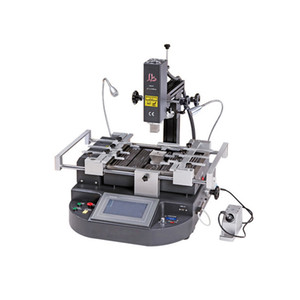 LY HR560 estación de retrabajo BGA con tres áreas de calefacción, máquina de reparación BGA con CE, puntero láser y pantalla táctil LCD