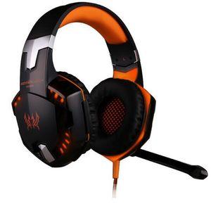 Meilleur PC Gamer G2000 Stéréo Gaming Casque Avec Microphone Glow Jeu Musique LED gaming écouteurs DHL livraison gratuite