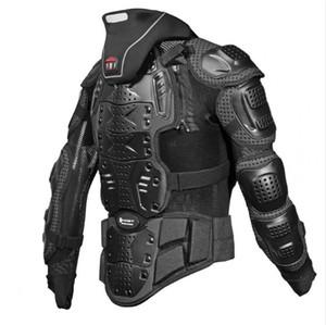 Cross country motocicleta armadura e armadura de corrida de bicicleta cotovelo e protetor no peito com proteção no pescoço HJ04