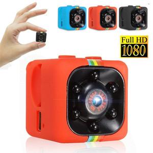 Mini caméra DVR de voiture HD 1080 P Caméscope de vision nocturne Voiture DVR Enregistreur vidéo infrarouge Sport Appareil photo numérique Support TF Carte DV Caméra ROUGE