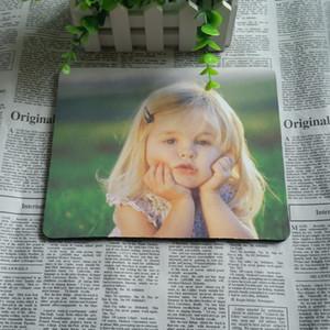 무료 도매 22cmx18cmx2mm 마우스 승화 마우스 패드 언론과 열 인쇄 매트. 출하 판매 빈 큰 DIY Qeovv