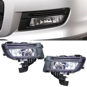 Стайлинга автомобилей Передний противотуманный фонарь лампы 12 В 51 Вт Передний левый + правая сторона Замена для Mazda 3 2007 2008 2009 Автомобильные аксессуары