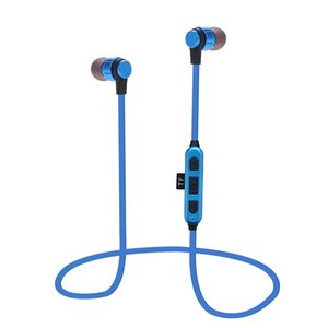 ST-K9 Wireless Bluetooth Headset Sports Earbuds With Mic Metal Magnetic in-ear Earphone Support Micro SD Card Music MP3 Player
