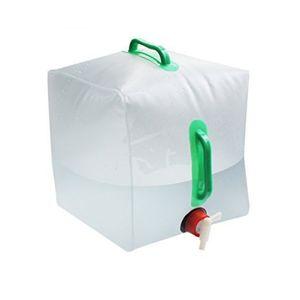 Secchio del PVC trasparente ad alta capacità pieghevole delle borse di acqua 20L con due imballaggi di idratazione della maniglia facile da trasportare 7 8st B