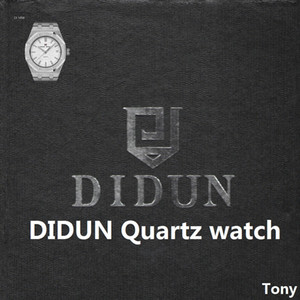 DIDUN Mens Orologi Top uomini della vigilanza del quarzo della vigilanza di acciaio maschile orologi di clock uomini 30 impermeabile