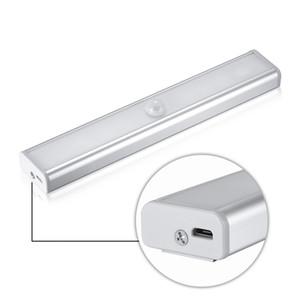 Lampe rechargeable de nuit de capteur de mouvement de LED de PIR pour l'éclairage de mur de bande magnétique de voie d'escalier de voie de couloir LEG_73R