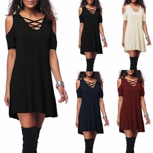 3 colors summer women fast sale off shoulder loose soft fashion breif dress hoilday party girls hot product