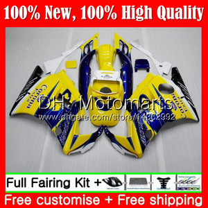 Honda CBR 600F2 92 FS için Vücut CBR600 F2 91 92 93 94 AAMT9 Mavi Corona CBR600FS CBR 600 F2 CBR600F2 1991 1992 1993 1994 PERAKE KAZANDIĞI