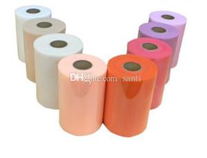 Tulle Roll 15cm 100 Yards Rotolo di tessuto Spool Party Gift Wrap Wedding Compleanno Decorazione artigianato decorativo forniture