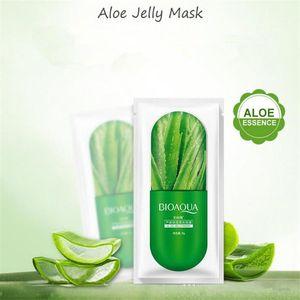 DHL 2019 free hot BIOAQUA Facial Jelly Sheet Mask Mascarilla facial hidratante profunda Prevenir Blueberry Sakula Sheet Sleep Mask 8g
