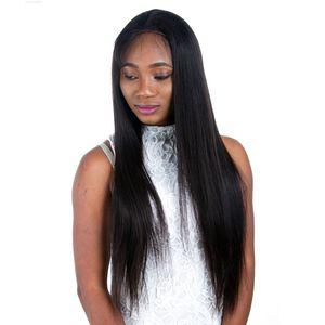 Silky Straight Silk Base фронта шнурка человеческих волос парик бразильский волос Remy Silk Top Полный парик шнурка с ребенком волос
