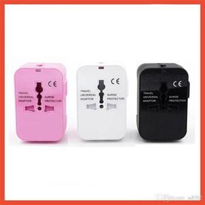 USB Basit Pratik Seyahat Adaptörü Dönüşüm Tak Worldwide All In One Evrensel Duvar Şarj Güç Adaptörleri Kullanışlı 26sg dd