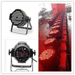 4 قطع 4in1 rgbw led par 54x3w led par 64 dmx led par يمكن إضاءة المسرح
