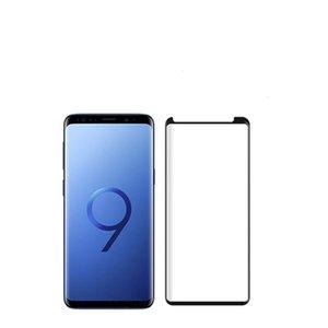 Caso amigável Note9 vidro moderado para o Samsung Galaxy Note 9 S8 S8 além de protetor de tela de cobertura total protecção Film oppbag
