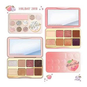 Brand Cosmetic Faced Sugar Cookie or Tickled Peach Mini Eyeshadow Make Up Palette Holiday Chirstmas 8color eyeshadow palette