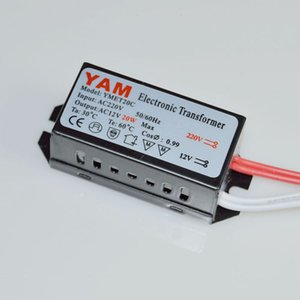 20-160W Transformateur électronique pour lampes à LED G4 lampe halogène pilote d'alimentation Convertisseur AC220V En AC12V Out