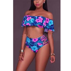 2018 Yaz Yeni Desen İstek Numarası Baskı Seksi thongs Yüzme Suit Fisyon Bikini push-up sütyen mayolar