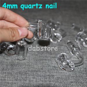 Eimer BANGER Quarznagel Titanium Nagel domeless Nagel 18 mm 14 mm 10 mm Bong Größe 4mm Dicke Silikonwasserrohr Bubbler