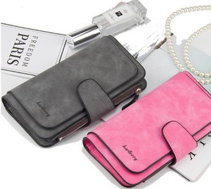 New lady Long Wallet seventy percent off Korean version zipper buckle soft leather pure handbag factory direct sale