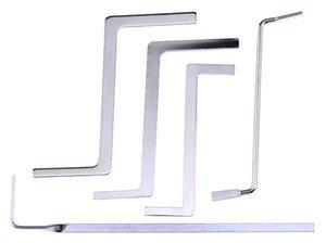 أدوات الأقفال صف مزدوج التوتر وجع إزالة متعددة الوظائف المعدنية التوتر رود / Puch رود Tubestension وجع