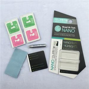 1мл Liquid Nano Technology Screen Protector для Samsung S9 Plus 3D изогнутый край полного покрытия закаленное стекло пленка