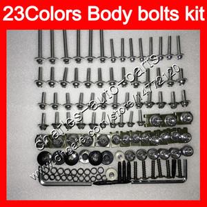 Fairing bolts full screw kit For HONDA CBR600F 11 12 13 14 CBR600 F CBR 600F 2011 2012 2013 2014 14 Body Nuts screws nut bolt kit 25Colors