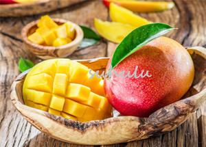 2 Teile / beutel Mango Samen, Mini Mango Baum Samen, Bonsai Tree Seed, organische Süße Obst Und Gemüse Samen, Topf Für Hausgarten Pflanzen