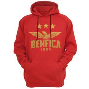 Comprar Benfica Portugal Hoodies Moletons Com Capuz Com Capuz moletom com capuz dos homens engraçados de lã masculino marca hoodies jaquetas do Benfica fa