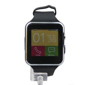 Smartwatch Kavisli Ekran X6 Akıllı İzle bilezik Telefon ile SIM TF Kart Yuvası ile Kamera için Samsung android smartwatch