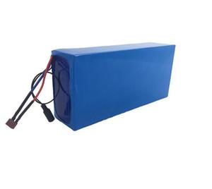 Бесплатная доставка полная емкость 48V 15AH литиевый аккумулятор настроить 48V 500W Ebike аккумулятор с BMS + 2A зарядное устройство