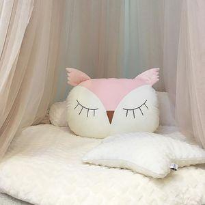 INS Hot Owl Cute Pillow Baby Comfort Doll Pillow Almohada de peluche Cómodo Almohada Suave